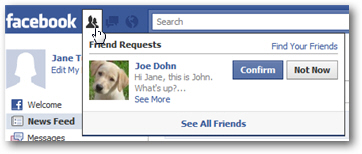 Add friends on Facebook (Send friend request)