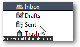 Saved copies of sent messages in your email program