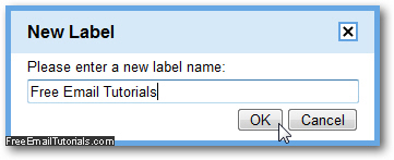 how to add labels in gmail