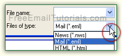 Force Outlook Express to check for the right file format!