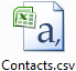 Backup or restore your contacts in Windows Live Mail