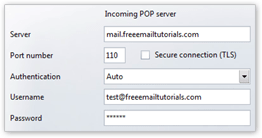 Incoming server properties in Opera Mail (M2)