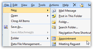 how to create a group calendar in outlook 2007