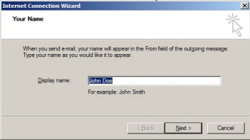 Choosing a Display Name for Yahoo! Mail