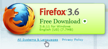 mozilla web browser for windows 7 free download
