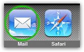 Launch Mac Mail to test your Hotmail account