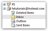Hotmail account in Outlook