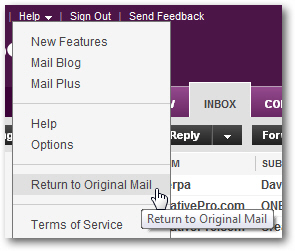 how to stop getting emails yahoo